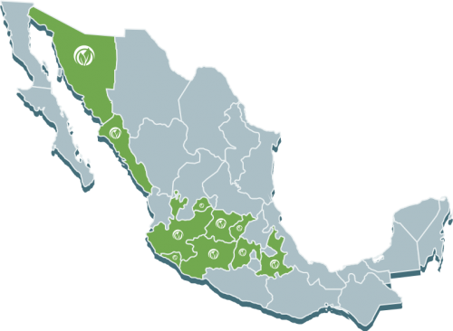 mapa naturagri